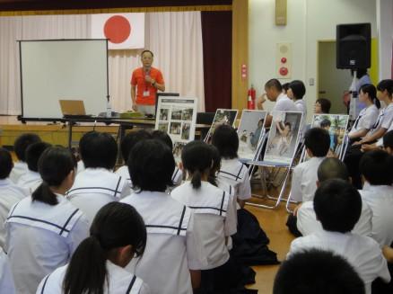 講演を行うCMC理事樋口氏