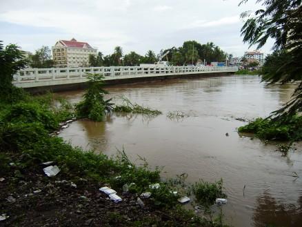 10月5日の川の様子