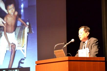 理事長大谷が「CMC15年の歩み」について講演