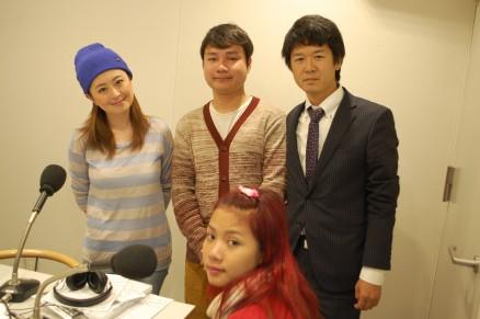 11月1日ラジオ「LOVE FM」出演