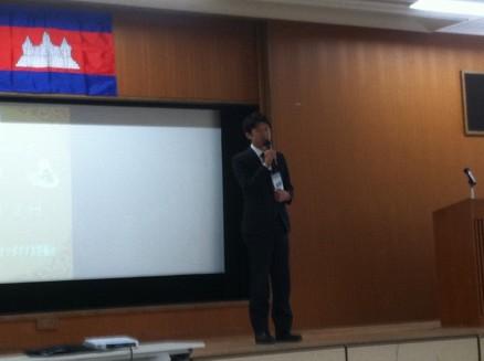 CMCからは古川事務局長が挨拶。